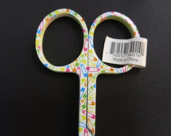 Safety Pin Embroidery Scissors