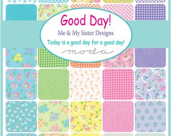 Good Day Fat Quarter Bundle 37 Skus - Moda - Me and My Sister Designs - In Stock Now!