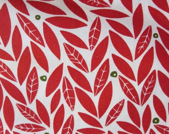 Moda Merrily Holly Berry 48212 12 Moda - Gingiber Seasonal Winter Holly Red