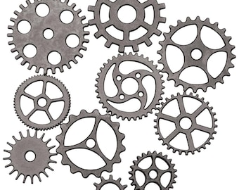 Tim Holtz - Assemblage - Gears And Cogs - THA20031 - Steampunk
