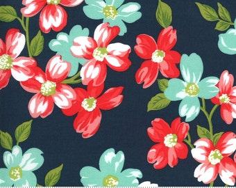 Bonnie and Camille- Sunday Stroll Navy 55220 15 Moda - Full Bloom