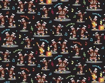 Riley Blake - It's Tootsie Roll Time - Tootsie Dance C6812- Black - I Spy Fabric