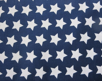 Riley Blake - Navy Fabric With White Stars 2015 Basics - C315 - 21 - I Managed To Get Another Bolt!