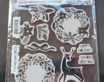 Stampers Anonymous Styled Woodlands Stamps
