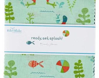 Ready Set Splash Charm Pack -  5 Inch Stacker