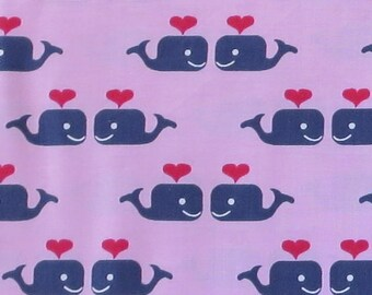 Oh Say Can You Sea Pink Whales in Love # ST-JL707PNK