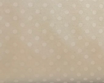 Little Snippets - Bonnie and Camille Fabric - 5518525 -   Cream Dot