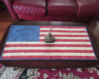 American Flag Tablerunner