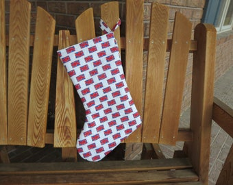 Union Jack Christmas Stocking - Limited Number Due To Hard-To- Find Fabric - British Flag