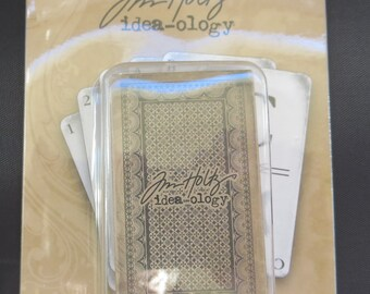 Tim Holtz - Idea-ology Alpha Cards - TH93006
