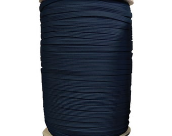 "1/4"" Soft Elastic Black X 10 Yards - 1/4"" wide soft latex free elastic."