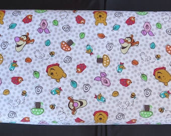 Disney Fabric - Tigger - Piglet And Winnie The Pooh Character Toss