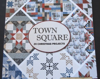 Town Square Quilting Book - 20 Christmas Projects