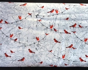Henry Glass -  Holiday Wishes by Jan Shade Beach - 6926-90  cardinals in snow.