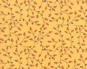 Last Bloom 18003 14 - Sandy Gervais Seasonal Fall 1800314 - Sandy Gervais Floral Modern Berries Gold