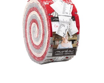 Moda - Country Christmas Jelly Roll by Bunny Hill Designs 2960JR