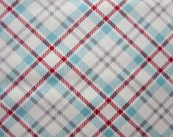 Sweetwater Novelty Picnic Plaid Multi - The Treehouse Club - 5635 21 - End Of Bolt - 1  2/3 Yards