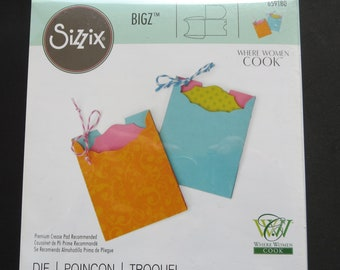"Sizzix Bigz Die By Where Women Cook 5.5""X6""-Mini Envelope & Tag - Grab This While You Can This Item Has Been Discontinued"