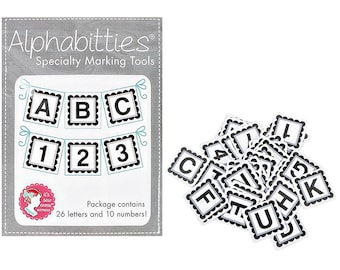 Alphabitties Gray ISE 725 Its Sew Emma