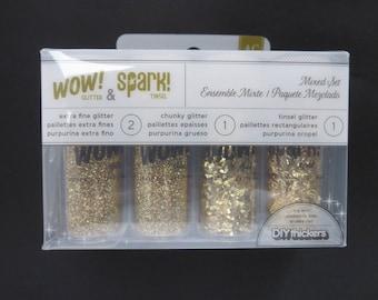 American crafts GlitterAnd Spark Tinsel -96556 - 4 Piece