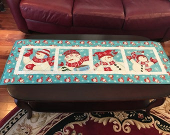 Homemade - Be Jolly Christmas Table Runner