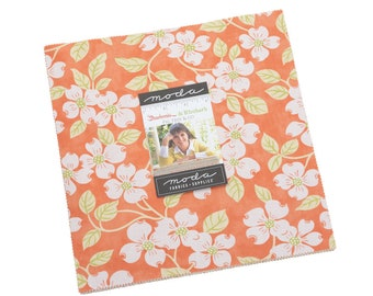 In Stock - Fig Tree Fabric - Strawberries &  Rhubarb Layer Cake