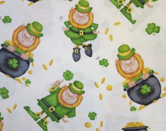 Reserved Listing - Henry Glass -   Lucky Me! by Shelly Comiskey of Simply Shelly Designs - 6850-6  Tossed Leprechaun-Multi