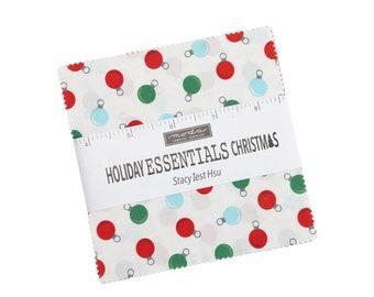 Moda Stacy Iest Hsu - Holiday Essentials Christmas Charm pack