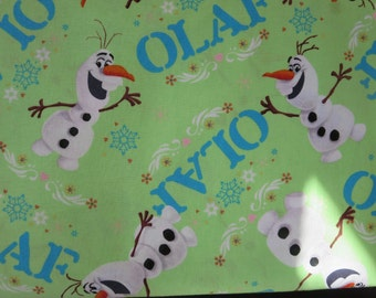 Olaf Toss Fabric -Spring Creatives