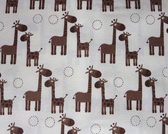 Riley Blake - Giraffe Crossing - Giraffe Giraffe Cream