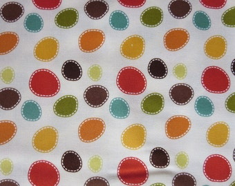 Riley Blake - Giraffe Crossing - Giraffe Dots Cream C2853 - ON SALE!