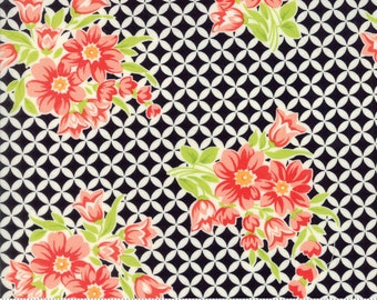End of Bolt 30 Inches Bonnie Camille - Handmade - Floral Gwendolyn Black - 55146 17