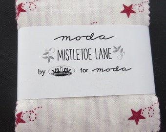 Moda Mistletoe Lane Mini Charm Pack - Bunny Hill Designs