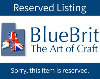 Reserved listing- Novelty Pillowcase - British Themed / England Pillowcase / U.K - From London With Love - Telephone Box