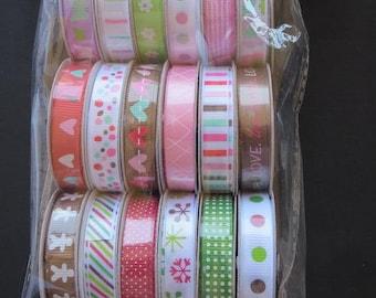 American Crafts Premium Ribbon Collection -Seasonal 1 -  89376
