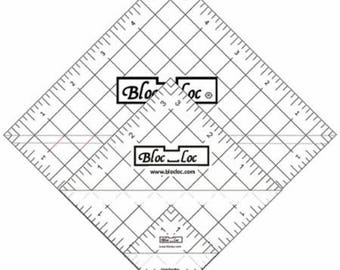 "Bloc Loc Set 3 - 1.5"", 3.5""  and 5.5"" Rulers - Ships Priority Mail"
