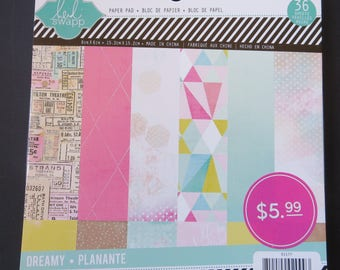 "American Crafts Heidi Swapp Paper Pad - 6""x 6"" - 36 papers"