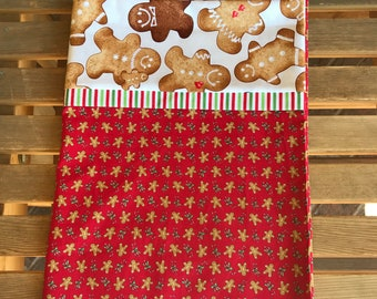 Novelty Themed Pillowcase - Christmas Pillowcase Gingerbread Men