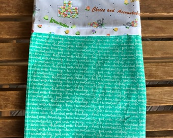 Pillowcase - Young Women Themed Pillowcase / Missionary Gift/ LDS Gift -Made With Out Of Print Fabric