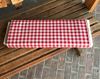 8.99 A Yard - Fabric - Comfort And Joy Plaid Red For Riley Blake - C6267