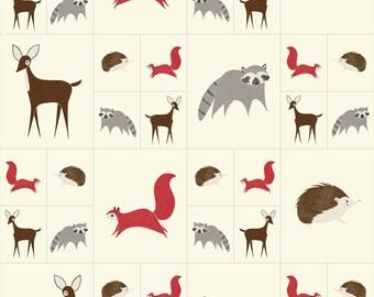 4828111 - Bramble - Critters Galore Panel Multi-Colored by Gingiber for Moda, 48281 11