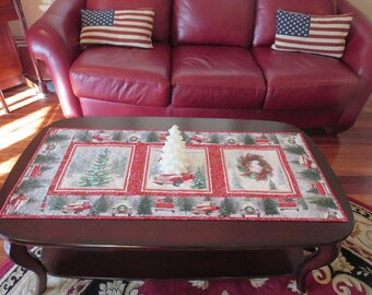 Homemade -  Christmas Table Runner Holiday Traditions