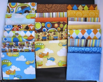 On The Go Fat Quarter Bundle - ONE LEFT Hard To Find - Free Shipping In The U.S This Week