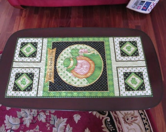 Homemade - Saint Patrick's Day - Table Runner - Lucky Me