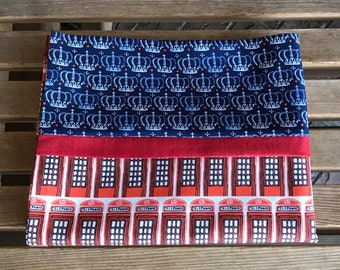 Novelty Pillowcase - British Themed / England Pillowcase / U.K - From London With Love - Telephone Box