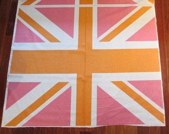 Riley Blake - Union Jack Panel Orange