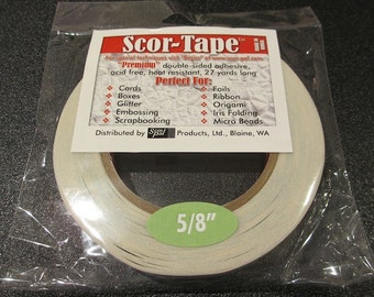 Scor-Tape - Premium Double Sided Adhesive 5/8""
