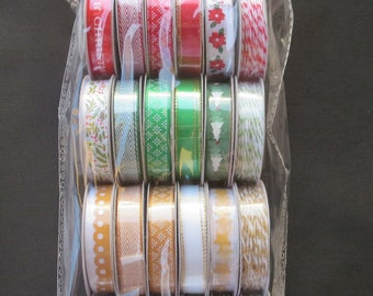 American Crafts Premium Ribbon - Deck The Halls