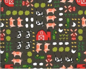 On The Farm  - 2070122 - Moda - Ol MacDonald By Stacy Iest Hsu - Grey