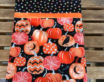 Novelty Themed Pillowcase - Halloween Pumpkin- Glow In The Dark